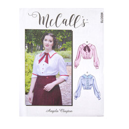 McCall's Misses' Historical Blouse M8078 - Sewing Pattern