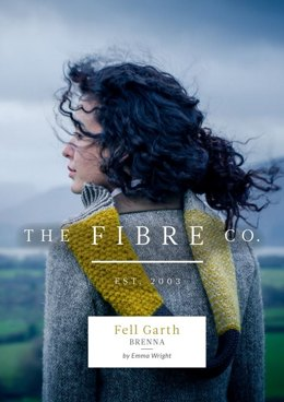 Brenna Mixed Stitch Cowl in The Fibre Co. Cumbria - Downloadable PDF