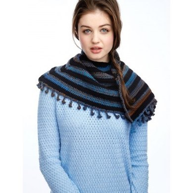Casual Cool Shawl in Patons Kroy Socks and Kroy Socks FX - Downloadable PDF