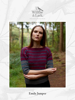 Emily Jumper in Willow & Lark Woodland