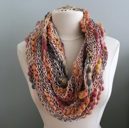 Bamboo Thick and Thin Cowl