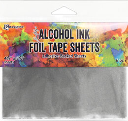 "Ranger Tim Holtz Alcohol Ink Foil Tape Sheets - 4.25""X5.5"""