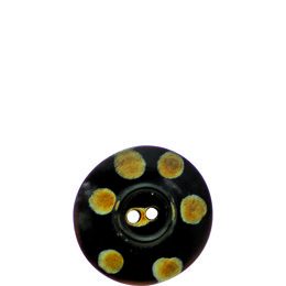 Spotty Horn 25mm 2-Hole Button