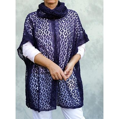 """Poncho / Tunic """"Nelly"""" with separate Loop"""