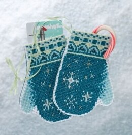 Mill Hill Snowflake Mittens Cross Stitch Kit - Multi