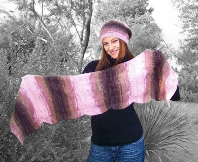 Slouchy Beanie and Scarf