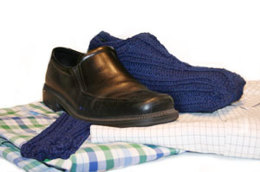 Travelin' Man Shoe Covers in Lion Brand Wool-Ease