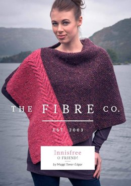 O Friend! Poncho in The Fibre Co. Arranmore - Downloadable PDF