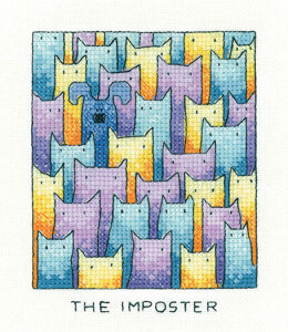 Heritage The Imposter Cross Stitch Kit - 9cm x 11.5cm