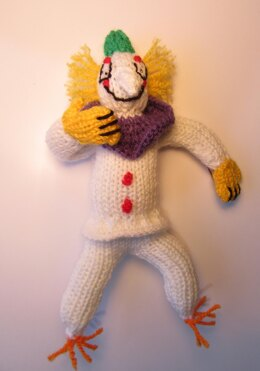 Clown Inspired Quentin Blake Doll Toy