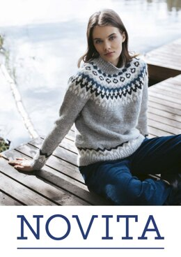 Mountaineer Sweater in Novita Natura - Downloadable PDF