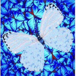 Diamond Dotz Flutterby White Kit - Multi