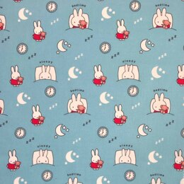 Visage Textiles Miffy Cut to Length - Sleepy Blue