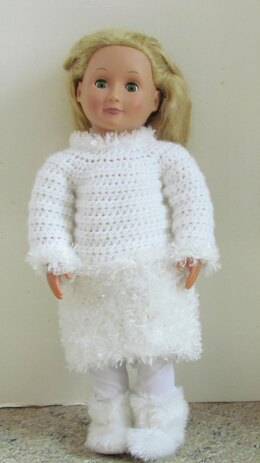 Snow Day 18 inch Doll Outfit