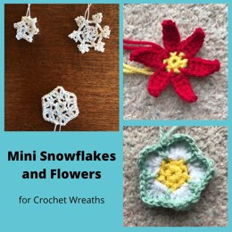 Mini Snowflakes and Flowers