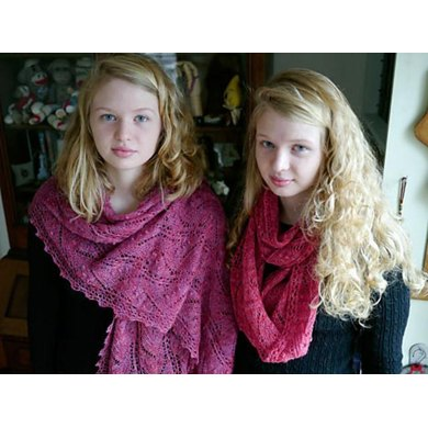 Sugarfrost Scarf or Stole