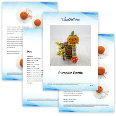 Pumpkin Rattle