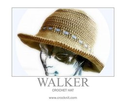 Crochet Hat WALKER - (UK British)