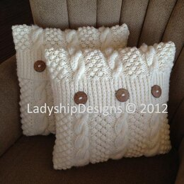 Blackberry Cable Pillow Cover
