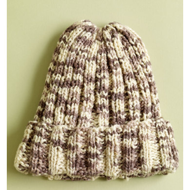 Sand Dollar Hat in Lion Brand Nature's Choice Organic Cotton- L0479