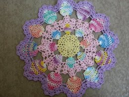 Candied Egg Doily