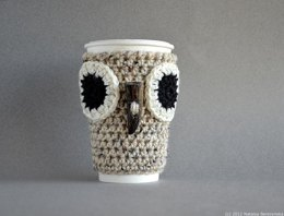 Owl Coffee Sleeve Cup Cozy