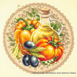 Magic Needle Mediterranean Salad Cross Stitch Kit