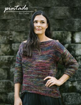 Pintado Sweater in Malabrigo Mecha - Downloadable PDF