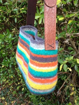 Tote Chic Felted Bag
