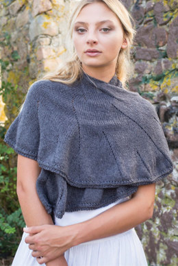 Airen Shawl in Berroco Summer Silk - 384-1 - Downloadable PDF