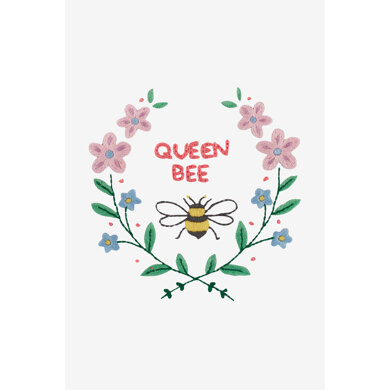 Queen Bee in DMC - PAT0447 -  Downloadable PDF