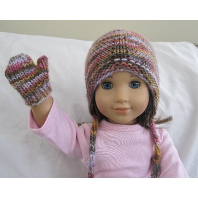 Easy Doll Mittens