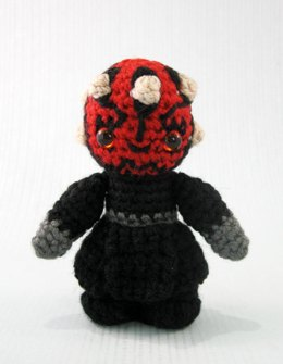 Darth Maul - Star Wars Mini Amigurumi