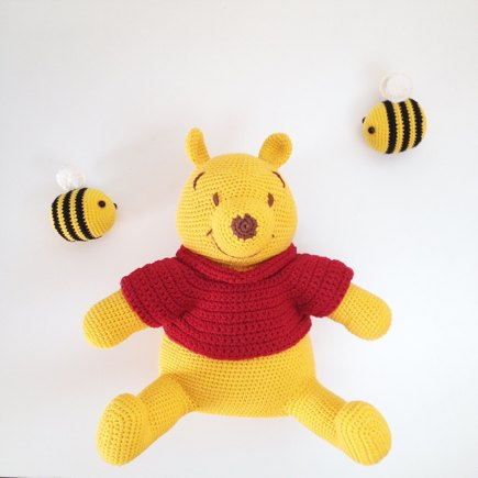 Amigurumi Winnie The Pooh Crochet Project By Ringbeller Lovecrochet