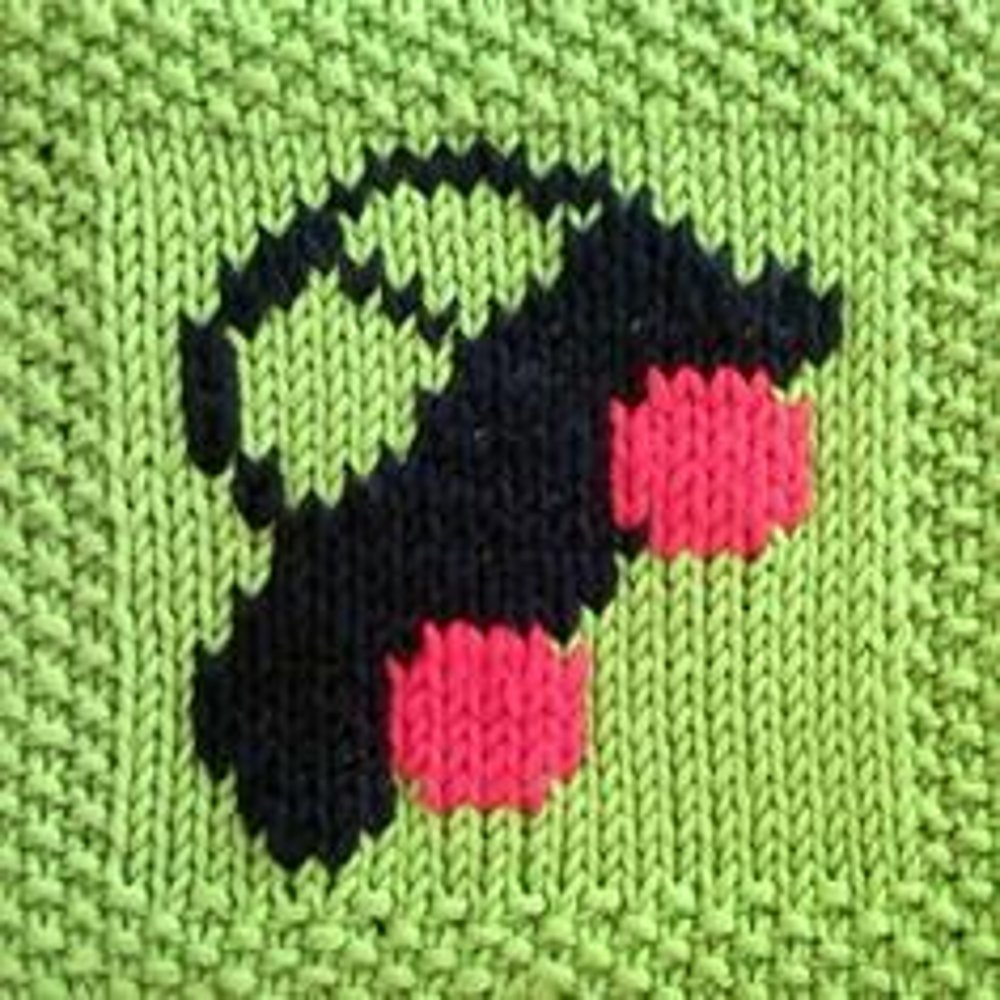 Car motif square Knitting pattern by Fiona Kelly | Knitting Patterns ...