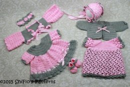 Sunbeam Delight Dresses Crochet Pattern #25