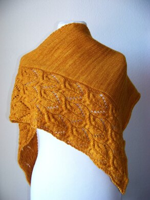 The Sunflowers shawl