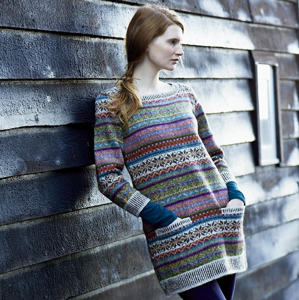 Sage from Windswept Knitting pattern by Marie Wallin