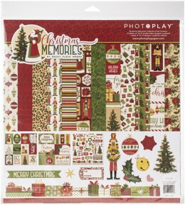 "Photoplay Paper PhotoPlay Collection Pack 12""X12"" - Christmas Memories"
