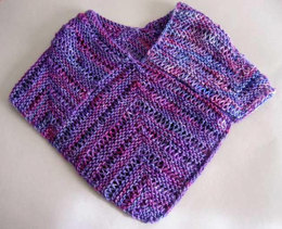 One Piece Lace Poncho in Artyarns Supermerino - P53