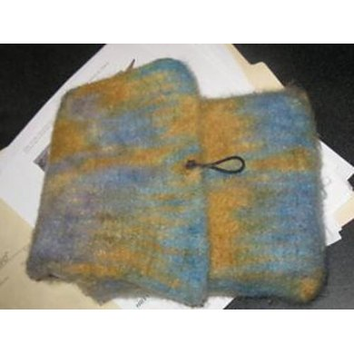 Felted Kindle Pouch