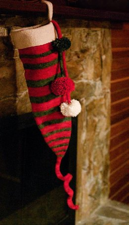 Dr. Seuss Inspired Christmas Stocking