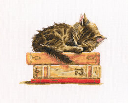 RTO Cat's Dream Cross Stitch Kit - 19.5cm x 16.5cm