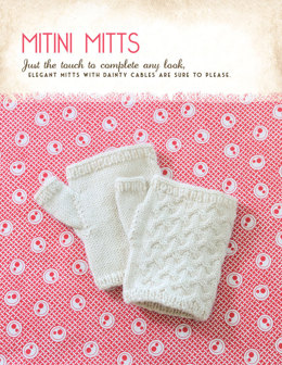 Mitini Mitts in Blue Sky Fibers Royal Petites - 1251 - Downloadable PDF