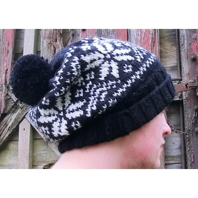 Nordic Hat with Bobble