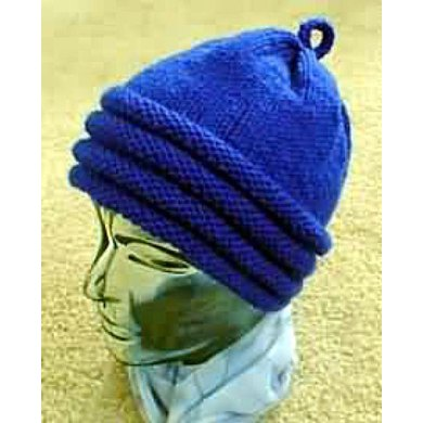 0173d852e08 Quaker Ribbed Bottom Hat - - Knit ePattern Knitting pattern by Frugal ...