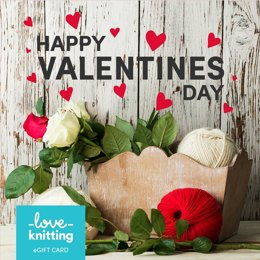 LoveKnitting eGift Card - Valentine's Day 2