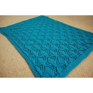 Gothic Leaves Baby Blanket