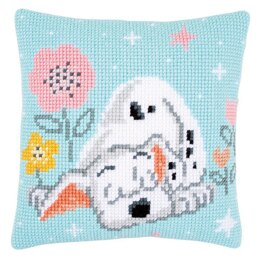 Vervaco Disney - Dalmatian Cushion Cross Stitch Kit - 40cm x 40cm