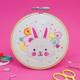 The Make Arcade Mini Embroidery - Bunny